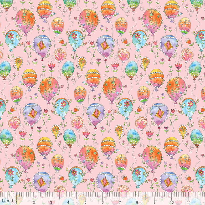 hot air balloons fabric