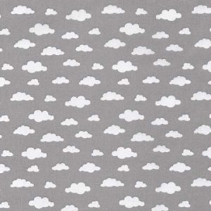 grey clouds cotton