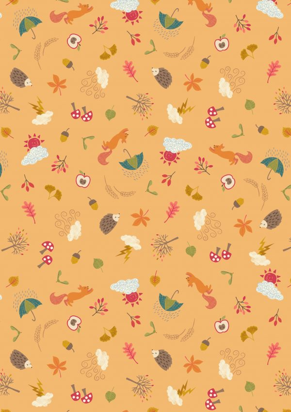 autumn craft cotton