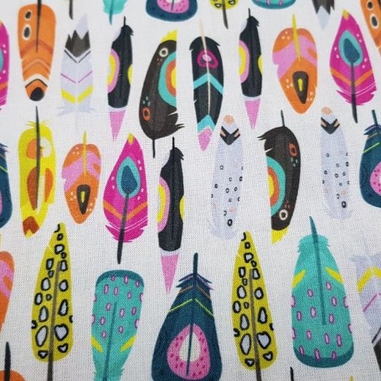 feather cotton fabric