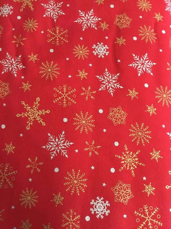 christmas cotton red