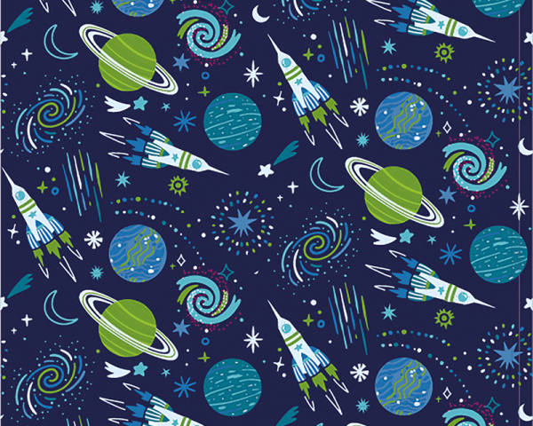 space cotton jersey fabric