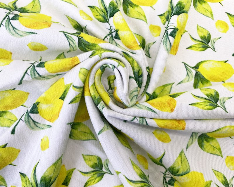 lemon fabric jersey