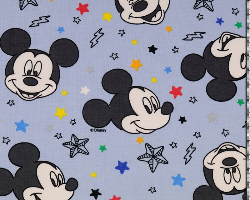 mickey mouse jersey fabric