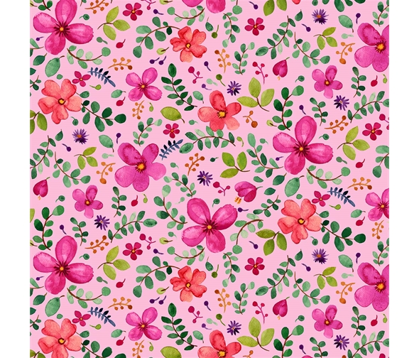 pink floral fabric michael miller