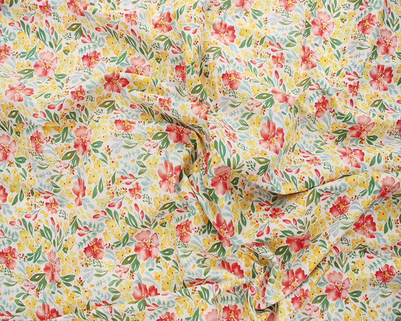 Floral lawn yellow
